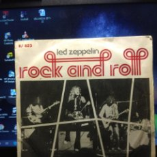Discos de vinilo: SG LED ZEPPELIN : ROCK AND ROLL . Lote 194247852
