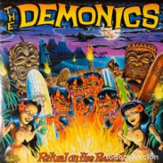 Discos de vinilo: THE DEMONICS RITUAL ON THE BEACH LP . PUNK ROCK AND ROLL SURF RAMONES RIVERDALE. Lote 194249540