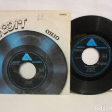 Discos de vinilo: BANDIT - OHIO / ALL I CAN DO IS GET OVER IT - SINGLE - 1977 - SPAIN - VG+/VG. Lote 194250360