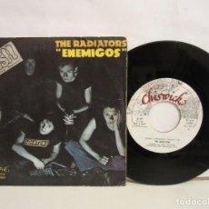 Discos de vinilo: THE RADIATORS - ENEMIGOS - SINGLE - PUNK - 1978 - SPAIN - VG+/VG. Lote 194251968