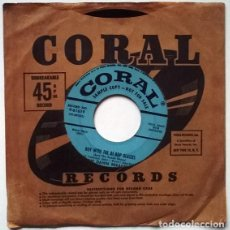 Discos de vinilo: THETHE DAWN BREAKERS. BOY WITH T THE BE-BOP GLASSES/ THE THINGS I LOVE. CORAL, USA 1956 SINGLE PROMO. Lote 194252026