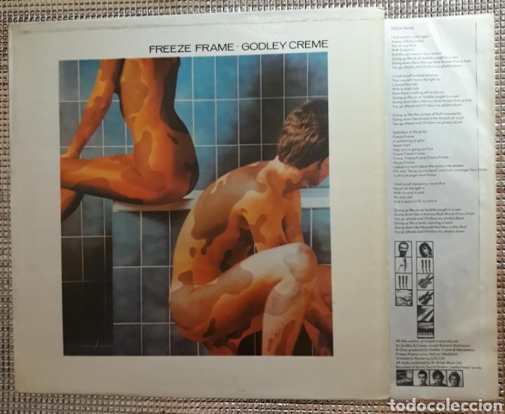 GODLEY & CREME : FREEZE FRAME (Música - Discos - LP Vinilo - Pop - Rock - Extranjero de los 70)