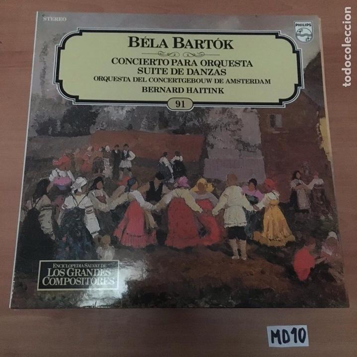 BELA BARTOK (Música - Discos - LP Vinilo - Otros estilos)
