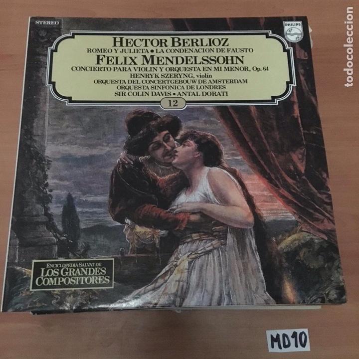 HÉCTOR BERLIOZ FÉLIX MENDELSSOHN (Música - Discos - LP Vinilo - Otros estilos)