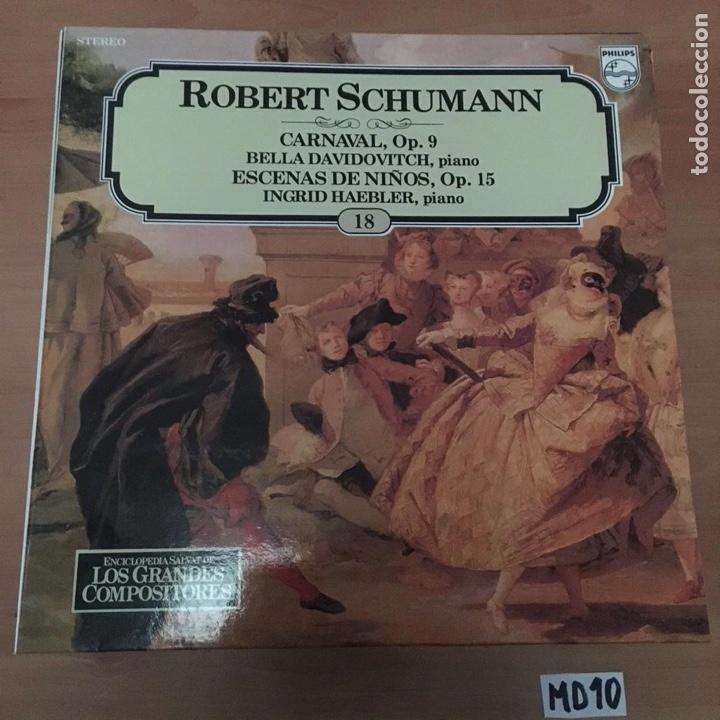 ROBERT SCHUMANN (Música - Discos - LP Vinilo - Otros estilos)