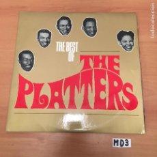 Discos de vinilo: THE PLATTERS. Lote 194257385