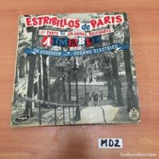 Discos de vinilo: ESTRIBILLOS DE PARÍS. Lote 194258018