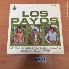 Discos de vinilo: LOS PAYOS. Lote 194258867