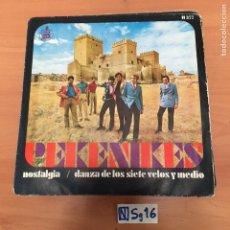 Discos de vinil: PEKENIKES. Lote 194260018