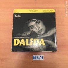 Discos de vinil: DALIDA. Lote 194260540