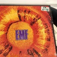 Discos de vinilo: SINGLE ( VINILO) DE EMF AÑOS 90. Lote 194260910