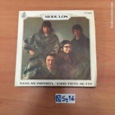 Discos de vinilo: MÓDULOS NADA ME IMPORTA TODO TIENE SU FIN. Lote 194260952