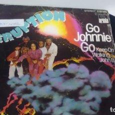 Discos de vinilo: SINGLE ( VINILO) DE ERUPTION AÑOS 70. Lote 194260976