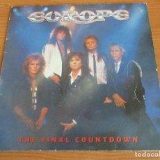 Discos de vinilo: DISCO : EUROPE: THE FINAL COUNTDOWN. Lote 194261023