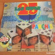 Discos de vinilo: DISCO DE PARCHIS: LAS 25 CANCIONES DE LOS PEQUES ( MAZINGER Z , ORZOWEI , TARZAN , ETC). Lote 194261155