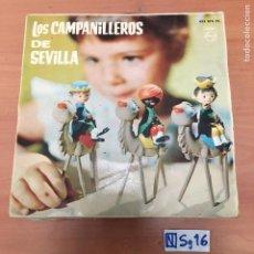 Discos de vinilo: LOS CAMPANILLEROS DE SEVILLA. Lote 194261200