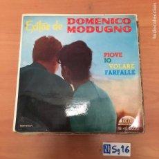 Discos de vinilo: DOMENICO MODUGNO. Lote 194261258