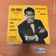 Discos de vinilo: CARLOS RAMÍREZ. Lote 194261323