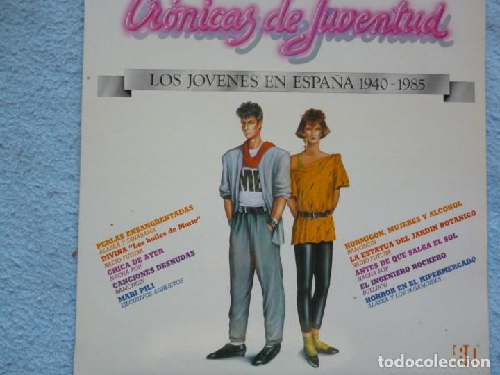 CRONICAS DE JUVENTUD,(ALAKA,EJECUTIVOS AGRESIVOS, NACHA POP Y OTROS)AÑOS 80 (Música - Discos - LP Vinilo - Grupos Españoles de los 70 y 80)