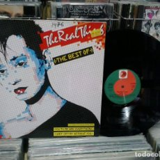 Discos de vinilo: LMV - THE REAL THING. THE BEST OF. PRT ‎1986, REF. 207 807. Lote 194262293