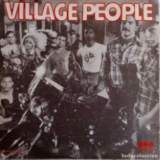Discos de vinilo: VILLAGE PEOPLE. SAN FRANCISCO. MAXI SINGLE MEXICO 3 TEMAS. Lote 194262365