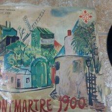 Discos de vinilo: MONTMARTRE EN 1900. CANTA: DENISE BENOIT. DISCO 33 RPM. TELEFUNKEN TLF 25016. Lote 194263281