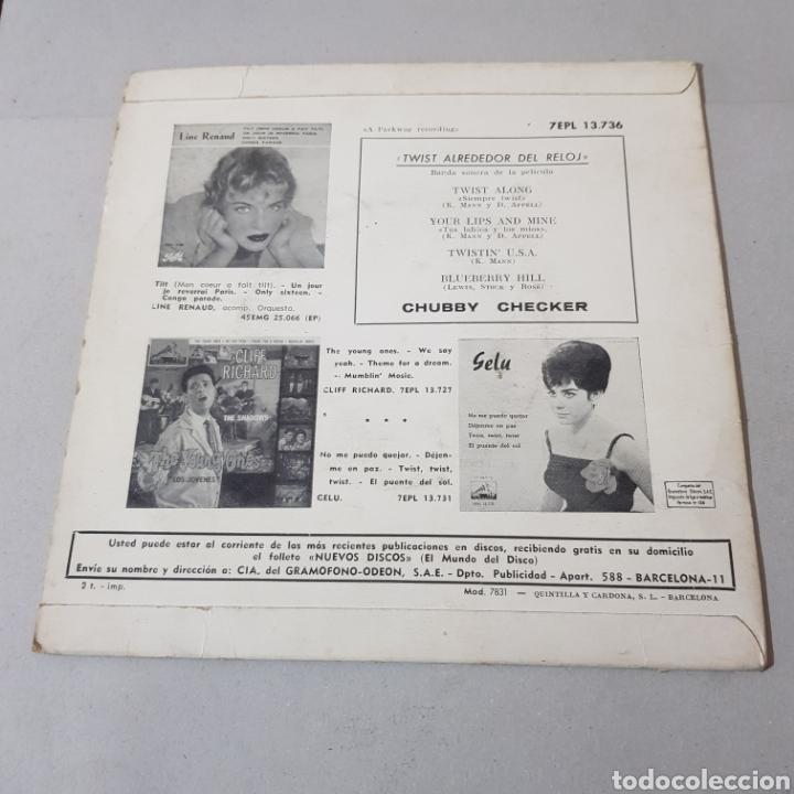 Discos de vinilo: CHUBBY CHECKER - EL REY DEL TWIST - TWIST ALONG - LA VOZ DE SU AMO - Foto 2 - 194263515