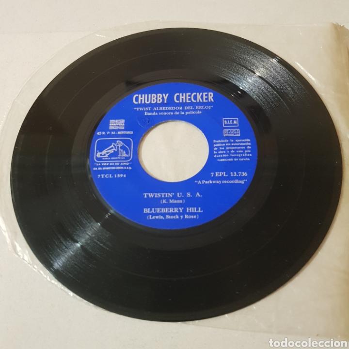 Discos de vinilo: CHUBBY CHECKER - EL REY DEL TWIST - TWIST ALONG - LA VOZ DE SU AMO - Foto 3 - 194263515