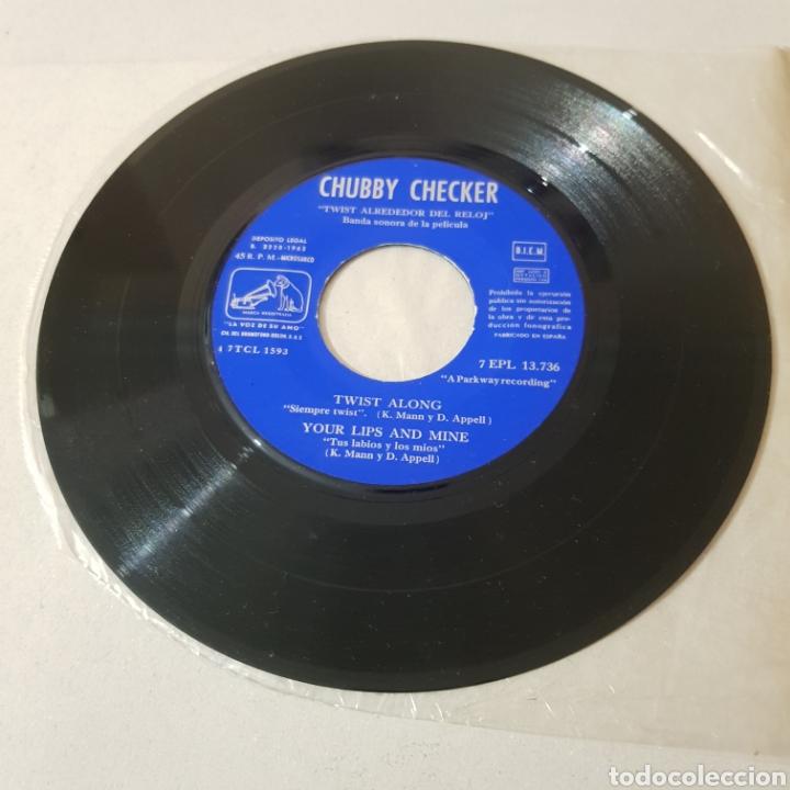 Discos de vinilo: CHUBBY CHECKER - EL REY DEL TWIST - TWIST ALONG - LA VOZ DE SU AMO - Foto 4 - 194263515