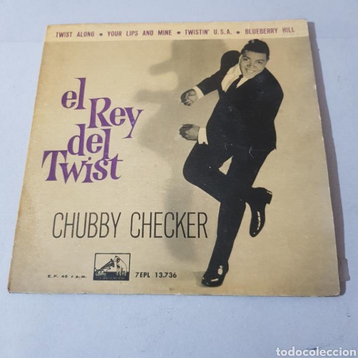 Discos de vinilo: CHUBBY CHECKER - EL REY DEL TWIST - TWIST ALONG - LA VOZ DE SU AMO - Foto 5 - 194263515