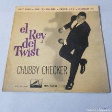 Discos de vinilo: CHUBBY CHECKER - EL REY DEL TWIST - TWIST ALONG - LA VOZ DE SU AMO. Lote 194263515