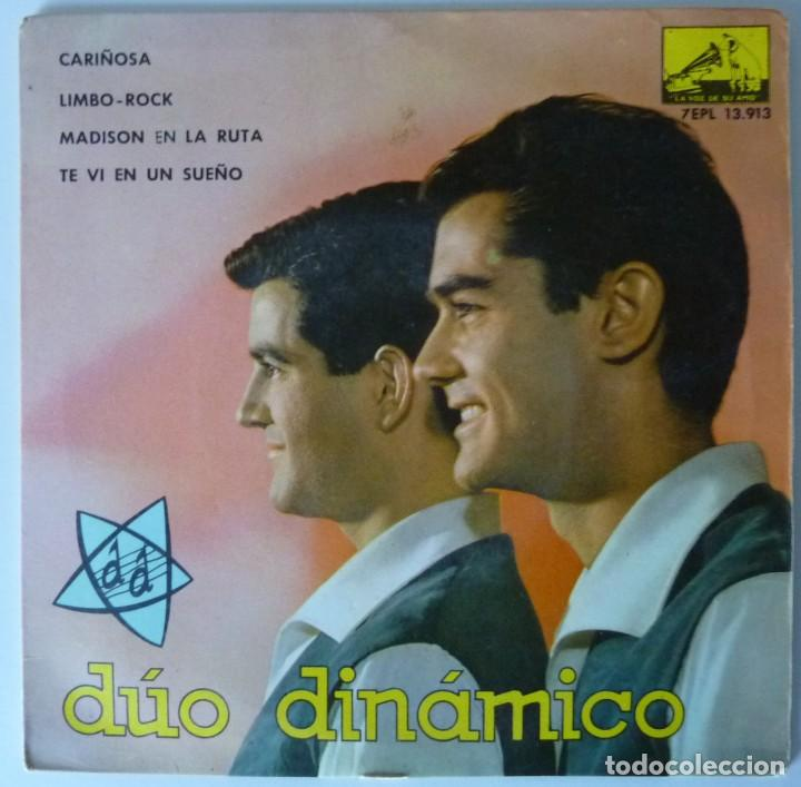 DUO DINAMICO // CARIÑOSA+3 // 1963 // EP (Música - Discos de Vinilo - EPs - Grupos Españoles 50 y 60)