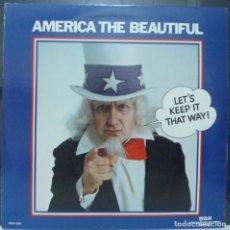Discos de vinilo: AMERICA THE BEAUTIFUL // EDDY ARNOLD / PERRY COMO/DISCO Y PORTADA DOBLE // MADE IN USA //(VG VG). LP. Lote 194264388