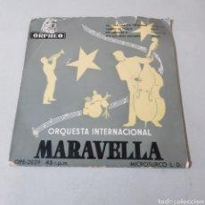 Discos de vinilo: ORQUESTA INTERNACIONAL MARAVILLA - CHA CHA CHA - MAMBO - BOTANGA. Lote 194264635