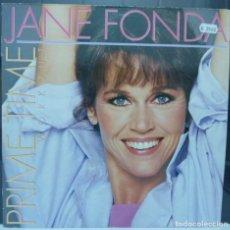 Discos de vinilo: JANE FONDA // PRIME TIME WORXOUT // 1984 // MADE FRANCE // ENCARTE // (VG VG). LP. Lote 194264758