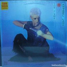 Discos de vinilo: ANNABEL LAMB // THE FLAME // 1984 // ENCARTE // (G G). LP. Lote 194265227