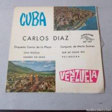 Discos de vinilo: CUBA Y VENEZUELA - CARLOS DIAS - ORQ. CASINO PLAYA - CONJUNTO DE MARIO SUAREZ - JOYA TROPICAL .... Lote 194265273