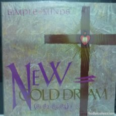 Discos de vinilo: SIMPLE MINDS // NEW GOLD DREAM // 1982 //(G G). LP. Lote 194265867