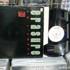 Discos de vinilo: LMV - ERASURE. OH L'AMOUR. MUTE 1986, REF. 12 MUTE 45 . Lote 194267660
