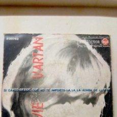 Discos de vinilo: SYLVIE VARTAN .EP DE 4CANCIONES . Lote 194267782