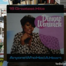 Discos de vinilo: DIONNE WARWICK - 16 GREATEST HITS - LP. DEL SELLO BLACK TULIP . Lote 194267986