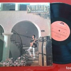 Discos de vinilo: MASAYOSHI TAKANAKA SAUDADE VINILO ORIGINAL 1982 LP VENEZUELA. Lote 194269443