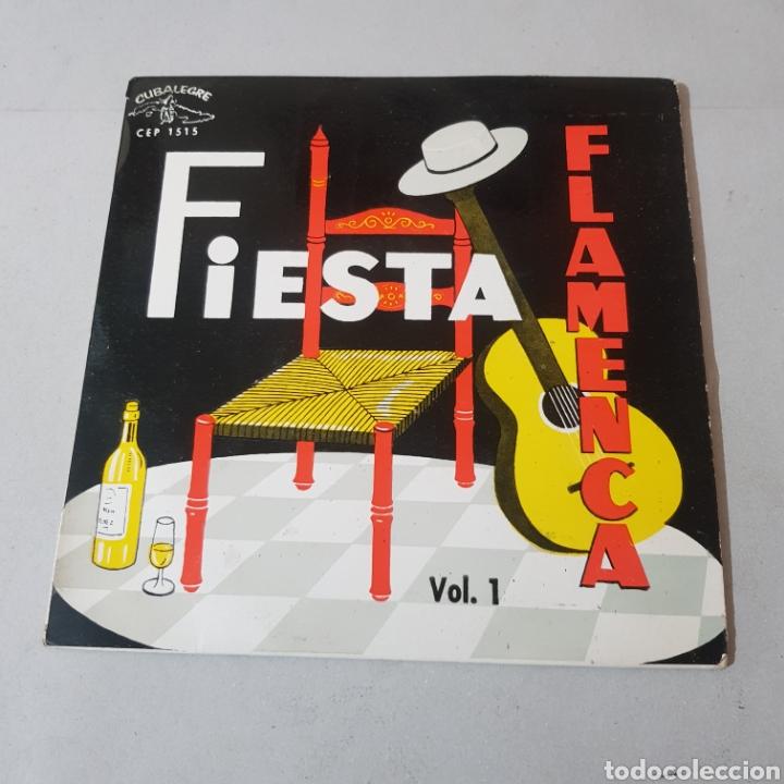 FIESTA FLAMENCA - VOL 1 - SELLO CUBALEGRE (Música - Discos - Singles Vinilo - Flamenco, Canción española y Cuplé)