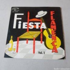 Discos de vinilo: FIESTA FLAMENCA - VOL 1 - SELLO CUBALEGRE. Lote 194269447
