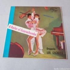 Discos de vinilo: A BAILAR EL GUARACHUMBE - ORQUESTA LOS CACIQUES - CUBALEGRE. Lote 194271301