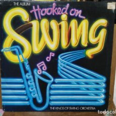 Discos de vinilo: HOOKED ON SWING - THE KINGS OF SWING OCHESTRA - LP. DEL SELLO K-TELL 1982. Lote 194271790