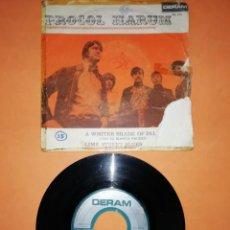 Discos de vinilo: PROCOL HARUM. A WHITER SADE OF PALE. CON SU BLANCA PALIDEZ. DERAM RECORDS 1967. Lote 194271972