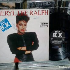 Discos de vinilo: LMV - SHERYL LEE RALPH. IN THE EVENING (SWEDISH REMIX). BEAT BOX, REF. BB 8018 . Lote 194272437