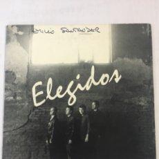 Discos de vinilo: ELEGIDOS-PROMO 1992-DANDO SALTOS+2-SIN USO. Lote 194275260