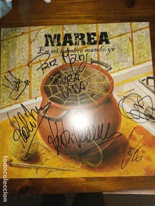 VINILO MAREA-EN MI HAMBRE MANDO YO. FIRMADO (Música - Discos - LP Vinilo - Grupos Españoles de los 90 a la actualidad)